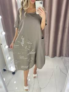 Платье короткое летнее А378107