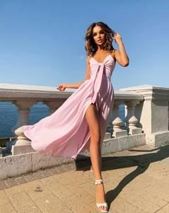Платье длинное летнее А45847