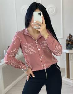 Рубашка с принтом А30998