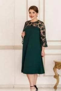 Платье короткое нарядное Ю6511