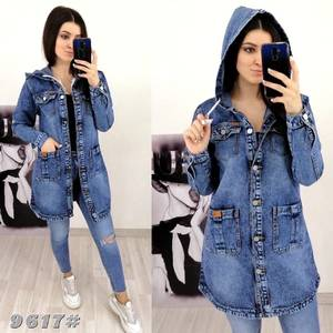 Джинсовая куртка А30260