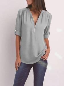 Блуза с длинным рукавом А32112