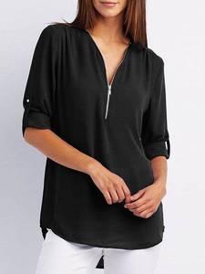 Блуза с длинным рукавом А32110