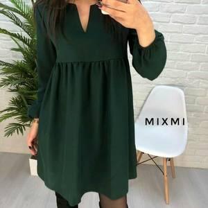 Платье короткое однотонное А23325