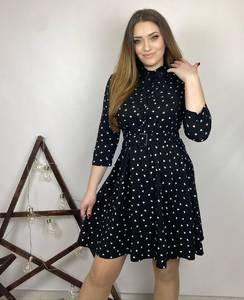 Платье короткое нарядное А31290