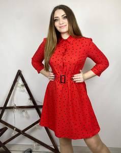 Платье короткое нарядное А31292