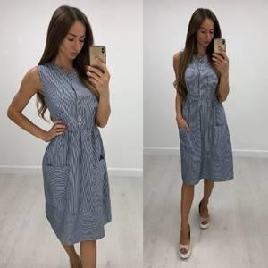 Платье короткое повседневное летнее Т7838
