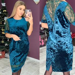 Платье короткое нарядное Ш8117