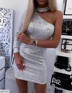 Платье короткое нарядное Ш8172