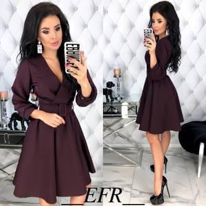 Платье короткое нарядное Ю3070