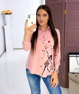 Рубашка с длинным рукавом Я3425