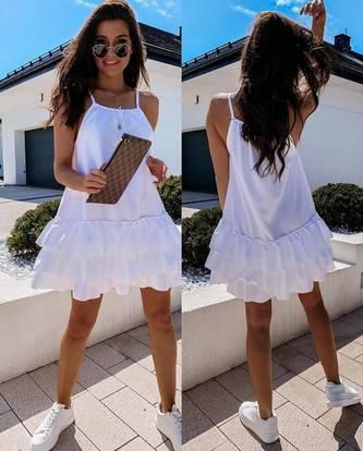 Платье короткое летнее Я6955