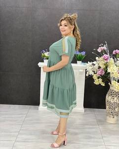 Платье короткое нарядное Я7520