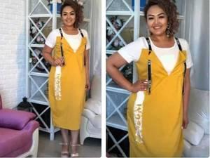 Платье короткое летнее Я7543