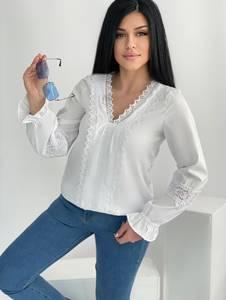 Блуза белая А34632