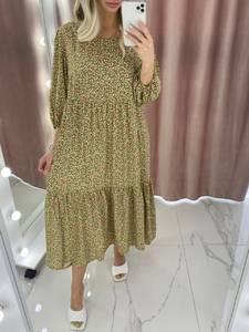 Платье длинное летнее А37900