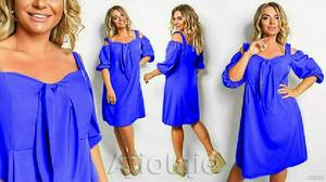 Платье короткое летнее А46718