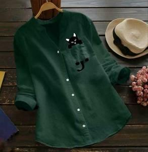 Рубашка с принтом А48767