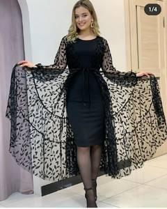 Платье короткое современное А57078