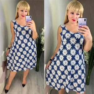 Платье короткое летнее Ч4164