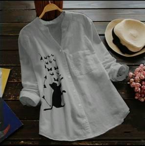 Рубашка с принтом А48776