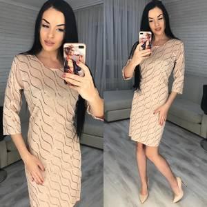 Платье короткое нарядное Ш8357