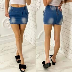 Юбка джинсовая Я6360