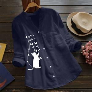 Рубашка с принтом А48777