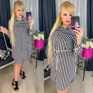 Платье короткое с длинным рукавом Ю7630