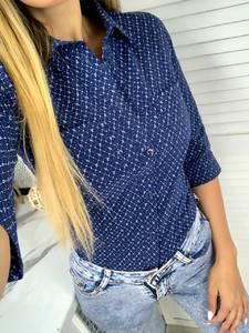 Рубашка с принтом Я6362