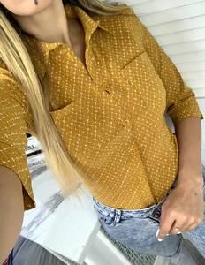 Рубашка с принтом Я6365