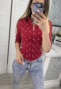 Рубашка с принтом Я6366