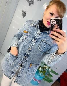 Джинсовая куртка Ч6621