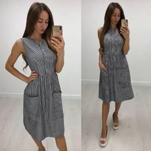 Платье короткое повседневное летнее Т7839