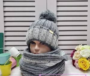 Шапка и шарф Хомут А24669