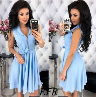 Платье короткое нарядное Ц5688