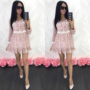 Платье короткое современное Ц6846