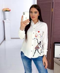 Рубашка с длинным рукавом Я3426