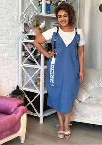 Платье короткое летнее Я7544