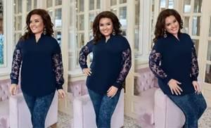 Блуза нарядная А33524