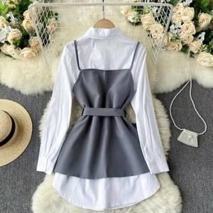 Блуза с длинным рукавом А36622