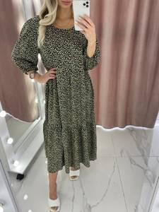 Платье длинное летнее А37901