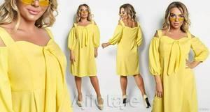Платье короткое летнее А46719