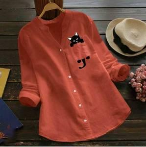 Рубашка с принтом А48768