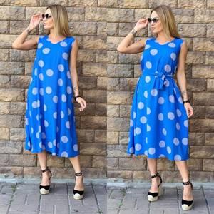 Платье длинное летнее Ч2743