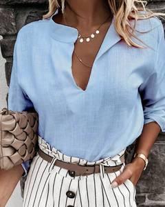 Блуза с длинным рукавом А37968