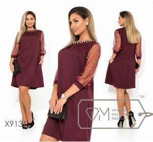 Платье короткое нарядное Я2037