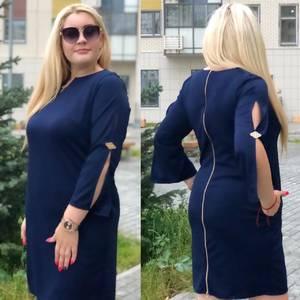 Платье короткое нарядное Ш1935