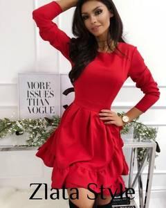 Платье короткое с длинным рукавом Ш2691