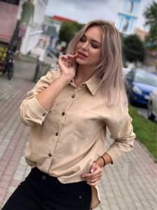 Рубашка с длинным рукавом Ш5367